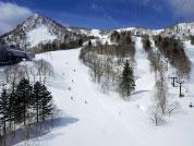 富良野滑雪场 本馆馆前