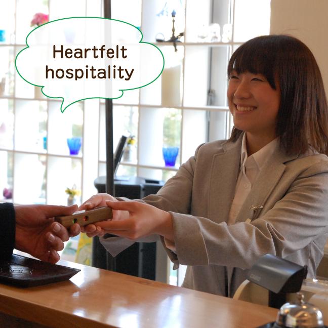 Heartfelt hospitality