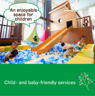 Child- and baby-friendly services