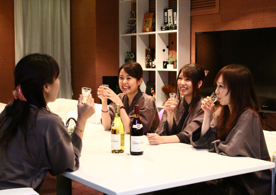 Woman-friendly hospitality developed by our female staff members